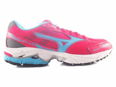 Mizuno Women Wave Legend 2 Roughred/blue/dkshadow Running Shoes