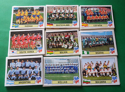 PANINI WC USA 94 - stickers at your choice 149/301 removed very good cond [MAX]