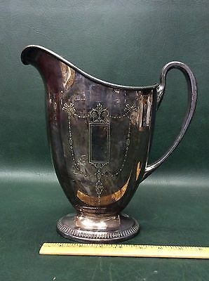 Vintage Community Plate Grosvenor Silver Plated Pitcher Jug c.1920