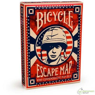 Bicycle Escape Map Playing Cards - 1 deck(s)