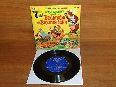 WALT DISNEY PRUDUCTIONS - BEDKNOBS AND BROOMSTICKS : Record + Booklet