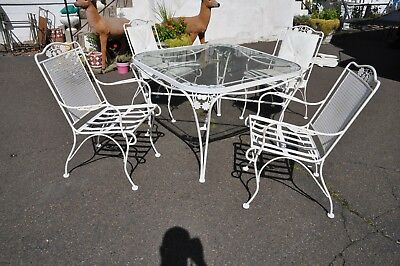 Woodard Wrought Iron Outdoor Patio Set