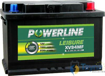 XV94MF Powerline Batterie Camping Bateau 12V