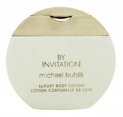 Michael Buble By Invitation Body Lotion - Women's For Her. New. Free Shipping