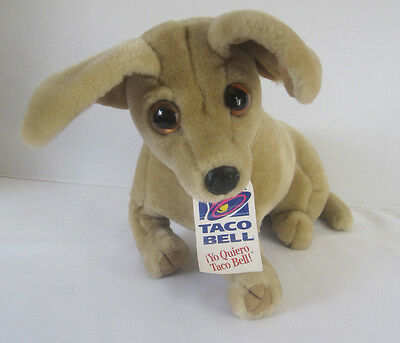 Taco Bell Talking Chihuahua Plush Dog