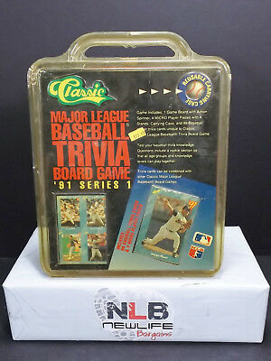 1991 Classic Major League Baseball Trivia Board Game Series 1