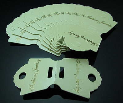 FREE 50PC Necklace Bracelet packaging Tags Jeweler Store Display String Reseller