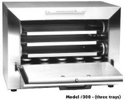 New Steri-Dent Sterident Dry Heat 3-Drawer Sterilizer