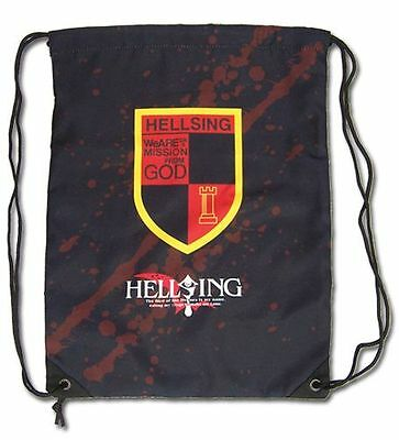 Hellsing Ultimate Organization Emblem Drawstring Bag Backpack *NEW*