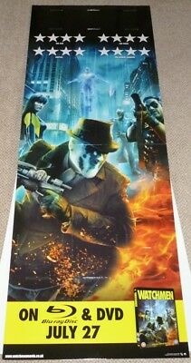 WATCHMEN STANDEE, RARE TRADE ONLY, MINT CONDITION IN ORIGINAL BOX, 60X23 ins