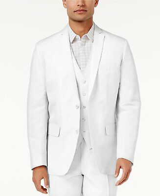 NWT INC International Concept Men's Linen Blend Regular Fit Blazer Size Large