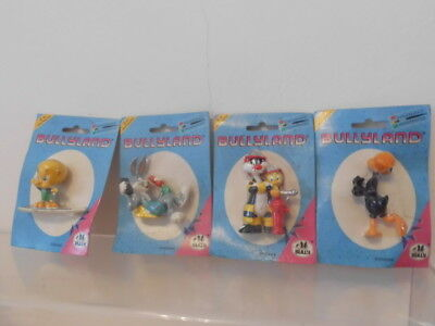 Bugs Bunny Looney Tunes Bully Blister 4 x Figur ovp Tweety,Sylvester,Daffy,Bugs