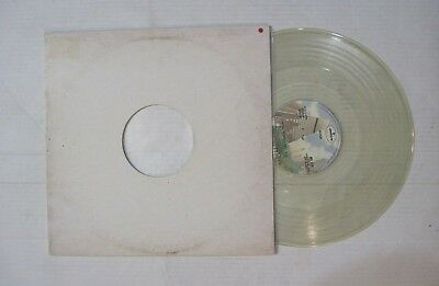 "Rush New World Man Vital Signs Live Original Promo Clear Vinyl 12"" Single LP"