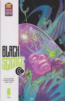 Black Science #7 San Diego Comic Con 2014 Exclusive Variant Cover Image Remender