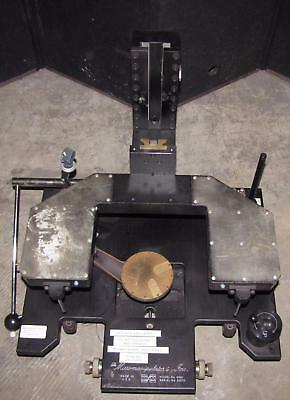 Micromanipulator Inc Model 6000 Manual Prober/micro Manipulator (#2134)