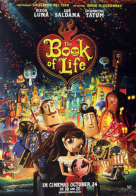 2 X The Book Of Life A3 Cinema Posters - New