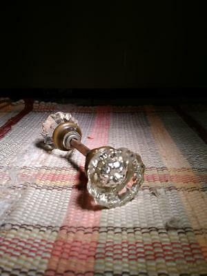 Vintage Victorian Antique Glass Door Knob