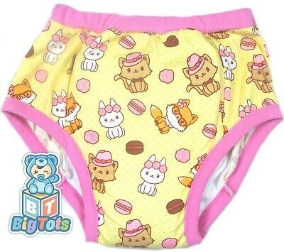 BIG TOTS Cats,Bunny & Foxs adult  training pants baby style*