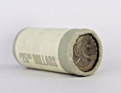 1979-P Uncirculated Susan B Anthony Dollar Unopened $25 Roll
