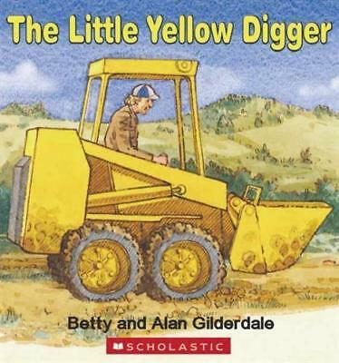 NEW Little Yellow Digger Board Book By Betty Gilderdale Board Book Free Shipping