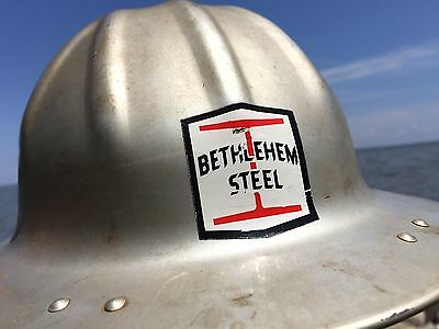 VTG B.F. McDonald SPARROWS POINT Maryland Bethlehem Steel Hard Hat BALTIMORE MD