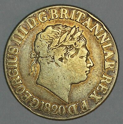 1820 Great Britain Gold Sovereign Coin - NICE QUALITY