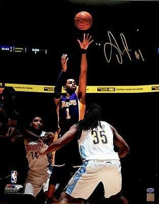 09122918edc D Angelo Russell Signed Lakers 16x20 2015-16 Auto NBA Rookie Photo (Russell