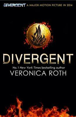 NEW Divergent  By Veronica Roth Paperback Free Shipping