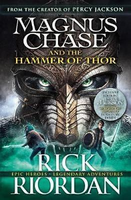 NEW Magnus Chase and the Hammer of Thor By Rick Riordan Paperback Free Shipping