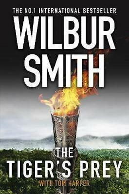 NEW The Tiger's Prey By Wilbur Smith Hardcover Free Shipping