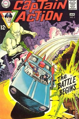 Captain Action (1968 DC National) #2 VG/FN 5.0 LOW GRADE