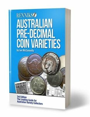 NEW Renniks Australian Pre-Decimal Coin Varieties 3/e By Ian McConnelly Paperbac
