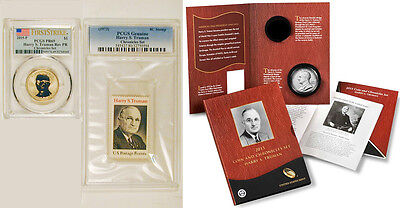 2015 Harry S Truman  Coin And Chronicles Set