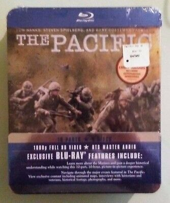 THE PACIFIC  miniseries   BLU RAY NEW  small shrinkwrap tears