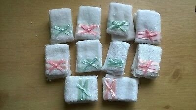 Towel Bales x 10 assorted DOLLS HOUSE MINIATURES (F5268)