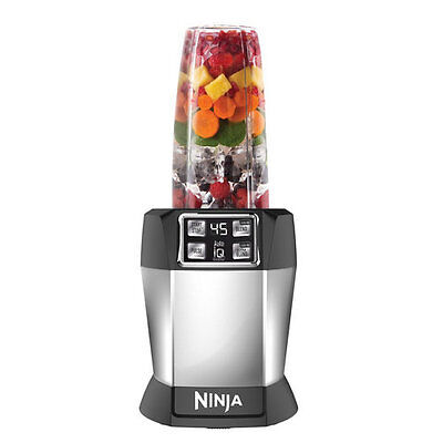 Ninja Nutri Blender mit Auto-IQ Magic Nutrition Mixer Standmixer Smoothiemaker
