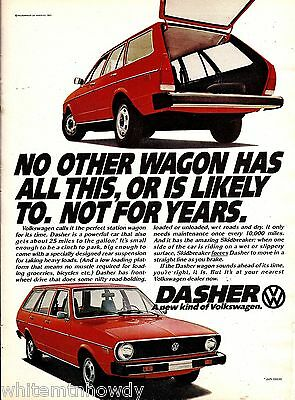 1974 VOLKSWAGEN Dasher Red Car AD