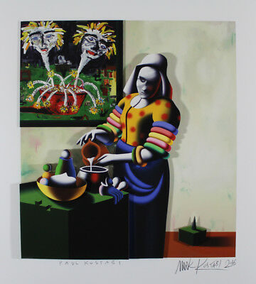 Mark Kostabi - The Transfiguration - handsigniert - 3D!!