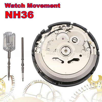 NH36 Japan Mechanical Watch Movement High Accuracy Automatic Wristwatch 29*5m