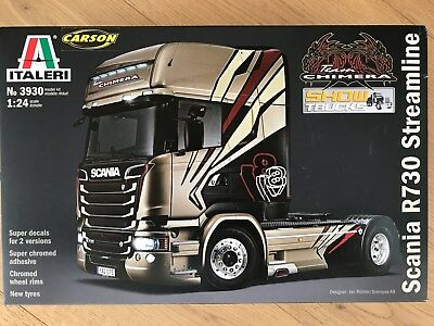 "+++ Italeri 1:24 SCANIA R730 Streamline ""Chimera""  3930"