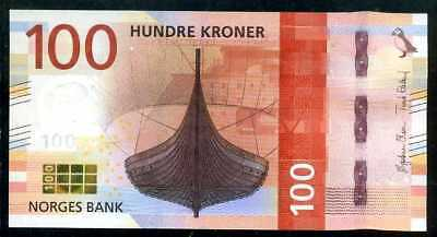NORWAY  100   KRONER  2016  P NEW  Uncirculated