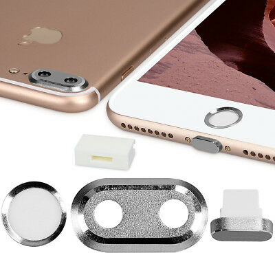 Smartphone Dust Protective Set Für Apple Iphone 7 Plus 8 Plus Film Foil Home