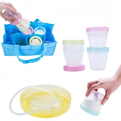 Baby Food Bowl Feeding Storage Container Candy Breast Milk Fruit Juice Seal Cup