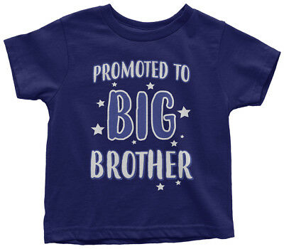 Promoted To Big Brother Toddler T-Shirt Expecting Baby Gift Reveal
