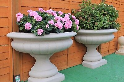 Victorian Style  Fluted Garden Trough Urn Planter