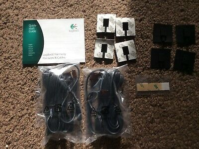 LOGITECH HARMONY PRECISION IR CABLES x 8 ONE 900 SMART ULTIMATE ELITE BLASTER.