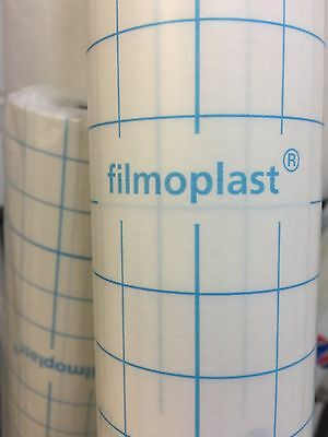 STICKY - Filmoplast - SELF ADHESIVE EMBROIDERY STABILISER 20CM X 5 METRES LONG