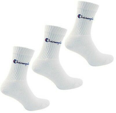 Champion Sports (3 Pack) Socks - White