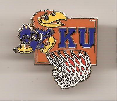 Pin's pin BASKET BALL UNIVERSITY OF KANSAS TEAM K.U (ref CL01)