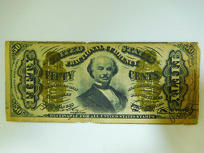 1863 US 50C Fractional Currency Note